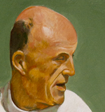 Walt | Oil on board